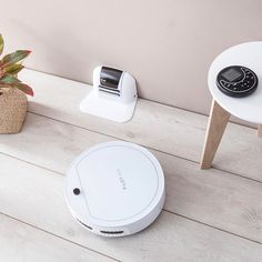 AirCraft Vacuums Pilot Max is a mid range robotic vacuum cleaner, which compares to cheaper iRobot Roomba robots. It has self charging, comes with a virtual wall and probably has a best remote control ever given to a robotic vacuum controller. http://theh