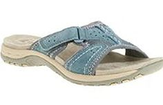 Earth Spirit Womens Niki Velcro Sandals Moroccan Blue 85 *** You can find out more details at the link of the image.