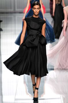 Christian Dior Fall 2012 Ready-to-Wear Fashion Show - Joan Smalls (IMG)