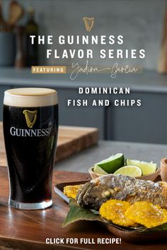 This summer, bring the Caribbean to any occasion by pairing Guinness with this Dominican Fish & Chips recipe. This iconic beach and coastal town dish was made for the beach or the backyard, and goes nicely with the rich and creamy flavor of Guinness Draught. Perfect for a day out in the sun, add this delicious combo to any summer gatherings you have planned! Guinness Recipes, Guinness Draught, Fish And Chips, Baileys, Girl Humor, Copycat Recipes, Cool Things To Buy, Chips Recipe, Cocktails