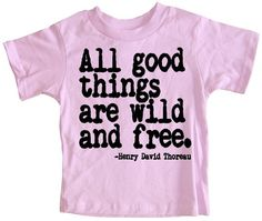 for the littles . . . thoreau t-shirt • happy family