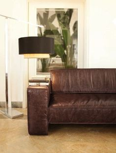 ... about Sofa Couro on Pinterest Leather Sofas, Blue Walls and Sofas