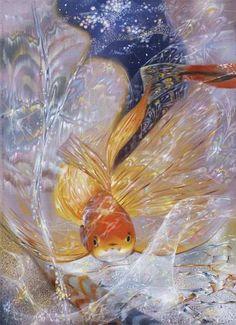 Maher Art Gallery: Shining painting by Alexander Maranov