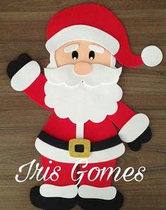 Navidad gomaevanavidad - Her Crochet Christmas Crafts For Kids To Make, Christmas Activities, Xmas Crafts, Paper Crafts, Xmas Ornaments, Christmas Decorations, Christmas Drawing, Theme Noel, Noel Christmas