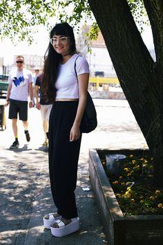 straight ups: los looks más radicales de nueva york | look | i-D