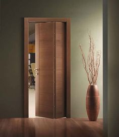 Find out all of the information about the FerreroLegno product: interior door INTAGLIO / Contact a supplier or the parent company directly to get a quote or to find out a price or your closest point of sale. Door Design Interior, Home Room Design, Bathroom Interior, House Design, Wooden Glass Door, Wooden Door Design, Wooden Doors, Space Saving Doors, Internal Folding Doors