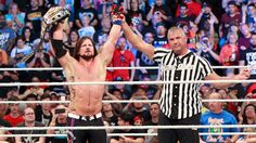 SummerSlam 2017: AJ Styles vs. Kevin Owens - United States Title Match (with Shane McMahon as special guest referee)