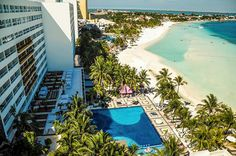 #DreamsSandsCancun Resort & Spa is an all inclusive resort perfectly situated 15 min from downtown Cancun - just perfect for your destination wedding guests' convenience! See more details at our #IDoMexico Wedding Planner! ~~ Talk to fellow brides there and specialist vendors like #sarahgarnier Hair & Makeup Riviera Maya to create your dream beach wedding, #TrashTheDress and honeymoon! ~~ I Do Mexico / Riviera Maya Wedding Resorts & Hotels