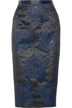 Raoul Brocade skirt