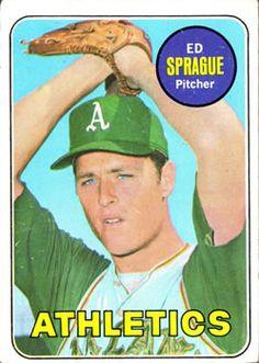 1969 Topps #638 Ed Sprague Front