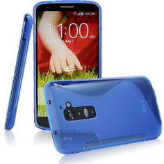 TPU S-LINE SILICONE RUBBER GEL CASE COVER SKIN ACCESSORY FOR LG OPTIMUS G2 - BLUE  $4.99 Price: