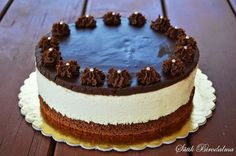 Hozzávalók cm-es torta): Tészta: 2 tojás 100 g cukor + 40 g a habba . Birthday Cake Write Name, Birthday Cake Writing, Hungarian Cake, Hungarian Recipes, Sweets Recipes, Cookie Recipes, Cold Desserts, Cottage Cheese, Sweet And Salty