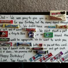 interior design / Happy 50th Birthday Dad!!  (Thanks for the idea Pinterest!!) malissawbr
