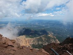 Pike's Peak ~ Colorado - View from the Summit