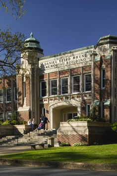 Lenoir-Rhyne University campus in Hickory, NC