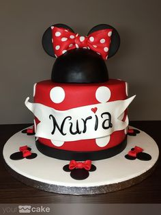 Your Cake. Tarta Minnie Mouse