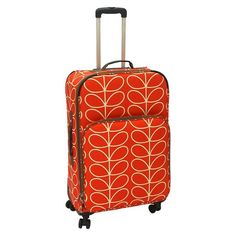 """Orla Kiely Roller Leaf - Orange (28"""") $179 Target"""