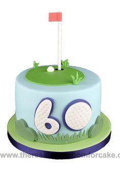 Golf Birthday Cake More