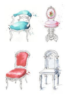 Georgina Luck: French chairs