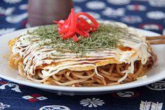 Okonomiyaki Hiroshima Style