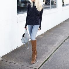 Hope everyone is having a great Sunday! My boots are 25% off and come in 3 colors  Shop my entire outfit liketk.it/2pryh @LIKEtkit