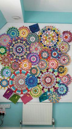 La passacaglia millefiori quilt by Izy Denham