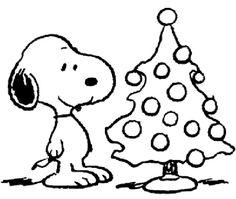 Snoopy and his Christmas tree Christmas Activities, Christmas Crafts For Kids, Christmas Printables, Christmas Colors, Christmas Art, Holiday Crafts, Xmas, Snoopy Coloring Pages, Coloring Book Pages