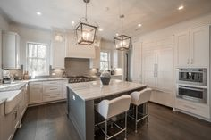 Spacious Kitchen | White Kitchen Design Ideas | Eat in Kitchen Inspiration | Luxury Real Estate Bluffton, South Carolina