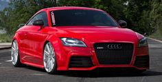 Audi TT RS on Vossen VVS-CV4
