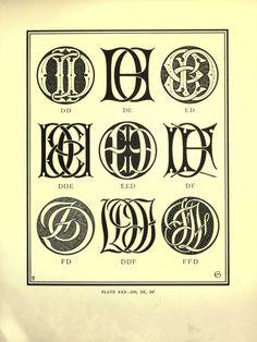 Monograms & ciphers ([1906])
