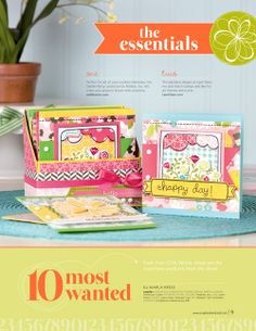 2014 video tutorial create this box and one of the cards