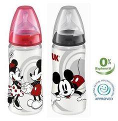 Nuk Mickey & Minnie Baby Bottles