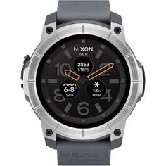 Nixon Mission a1167-2101 Herrenuhr Grau