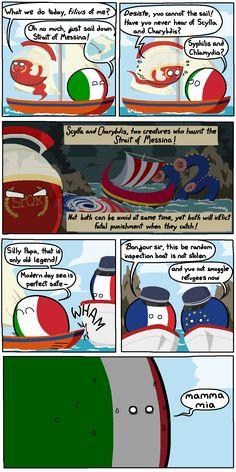 Straight and Narrow | Polandballs Countryballs