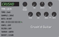 This Week's Preset - TimeLine - Crush'd Guitar #strymonpreset