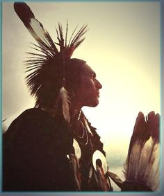 Cherokee Tradition was to wear only a few feathers as a head dress, or a Porcupine Roach. The plains Native Americans/Indians made the long head dresses. According to the 'cherokeemuseum.org' ♥