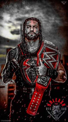WWE Superstar Roman Reigns #WWE #wrestler #wrestling