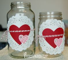 {Valentines} Love Jars