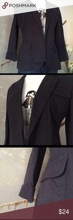 LOFT NAVY JACKET LOFT jacket. 100% cotton. Warn twice, excellent condition. LOFT Jackets & Coats Blazers