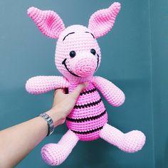 """58 gilla-markeringar, 1 kommentarer - Crochet by Asama  🤗 ตุ๊กตาถัก (@asama_saeue) på Instagram: """"I love crochet.😚 #สนใจสินค้าสอบถามได้นะฮั๊บบ😙 ฝากติดตาม 👇 https://www.facebook.com/Ingamigurumi/…"""""""