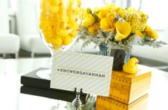 Yes, your baby shower does need a hashtag! #babyshower {Click to see more of Savannah Guthrie's baby shower!}