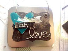 baby love! stamp idea, craft stuff, card galor, babi card, simpli babi