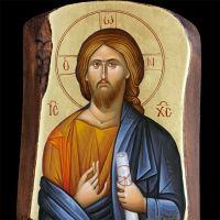 Ιησούς Χριστός Jesus Christ, Mona Lisa, Artwork, Work Of Art, Auguste Rodin Artwork, Artworks, Illustrators