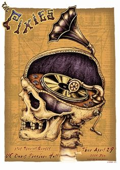 The Pixies Concert Poster by Emek     Of course it's sold out.