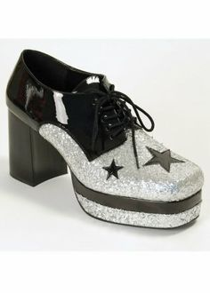 2dfefa51c779 1970 s Glam Rock Disco Mens Platform Shoes