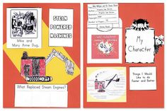 WEEK 32 Mike Mulligan and His Steam Shovel lapbook Art Lessons For Kids, Art Lessons Elementary, Shovel Craft, Five In A Row, Homeschool Books, Construction Theme, Literature Circles, Homeschool Kindergarten, December 4th