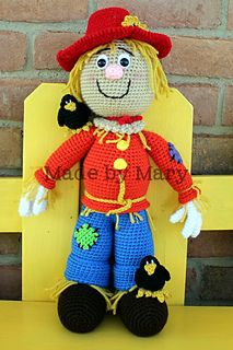 Sawyer the Scarecrow Crochet Pattern from Made by Mary