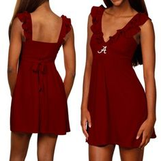 Alabama Crimson Tide Ladies Crimson Sorority Girl Sundress