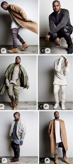 Kanye West Talks Celebrity, Kim Kardashian and More in 'GQ' August 2014
