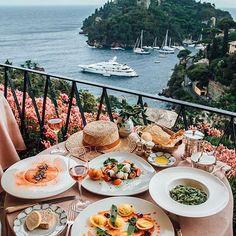 When in #Portofino ❤️ @taramilktea